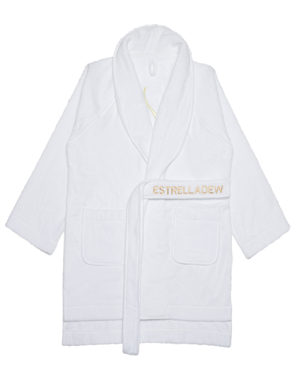 [HOTEL] SEX APPEAL BATH ROBE - glitter gold